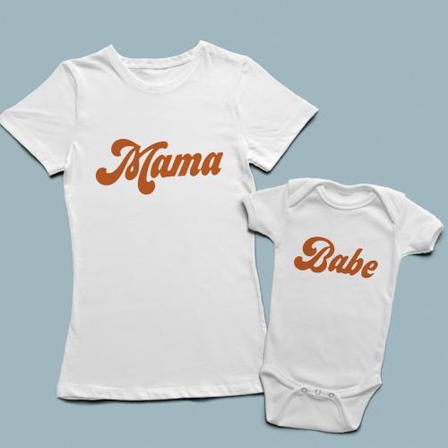 Mama Babe Kombin Set