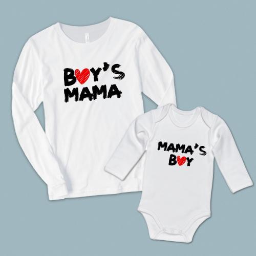Boy's Mama Mama's Boy anne oğul set