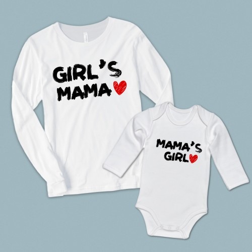 Girl's Mama Mama's Girl anne kız set