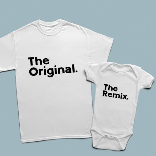 The original, the remix baba çocuk set